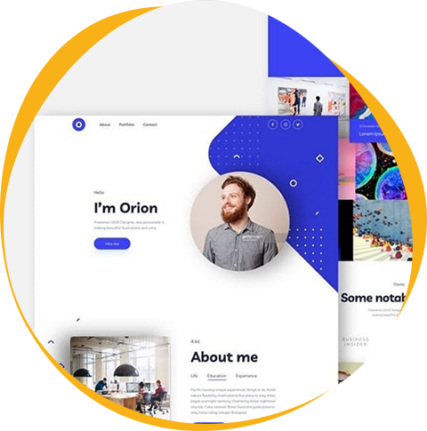 Experience unique features of ready-made website template